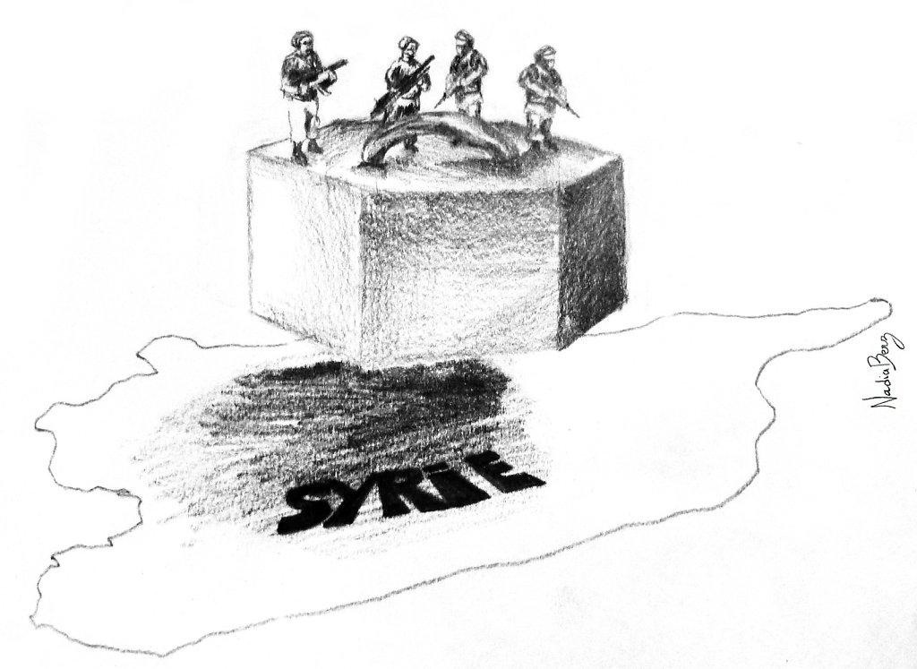 Syrie - Menace d'une guerre civile