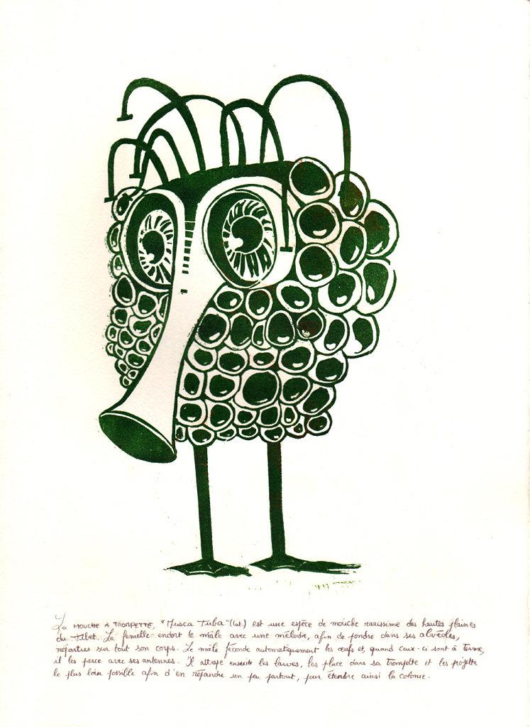 Mouche à trompette