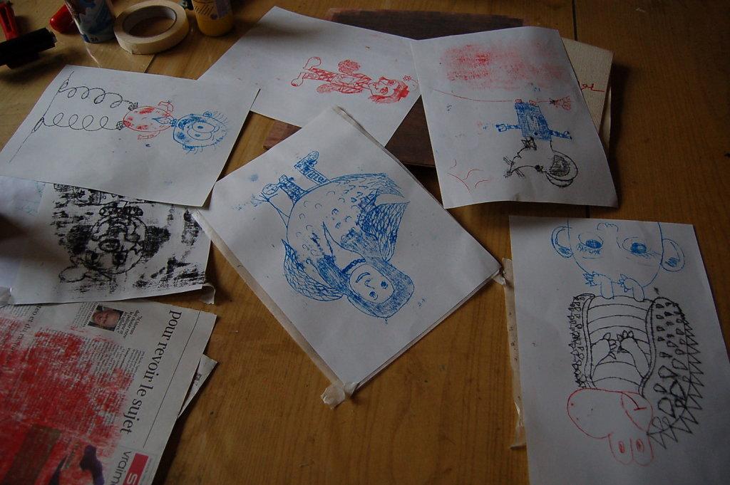Atelier monotype